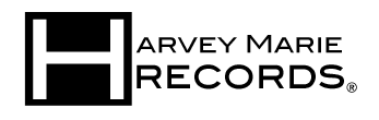 Harvey Marie Records Logo