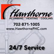 Hawthorne Plumbing, Heating and Cooling Logo