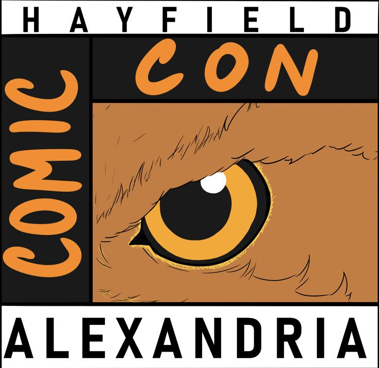 Hayfield Comic Con Logo