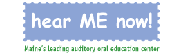 Hear ME Now! Logo