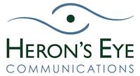 Heron's Eye Communications Logo