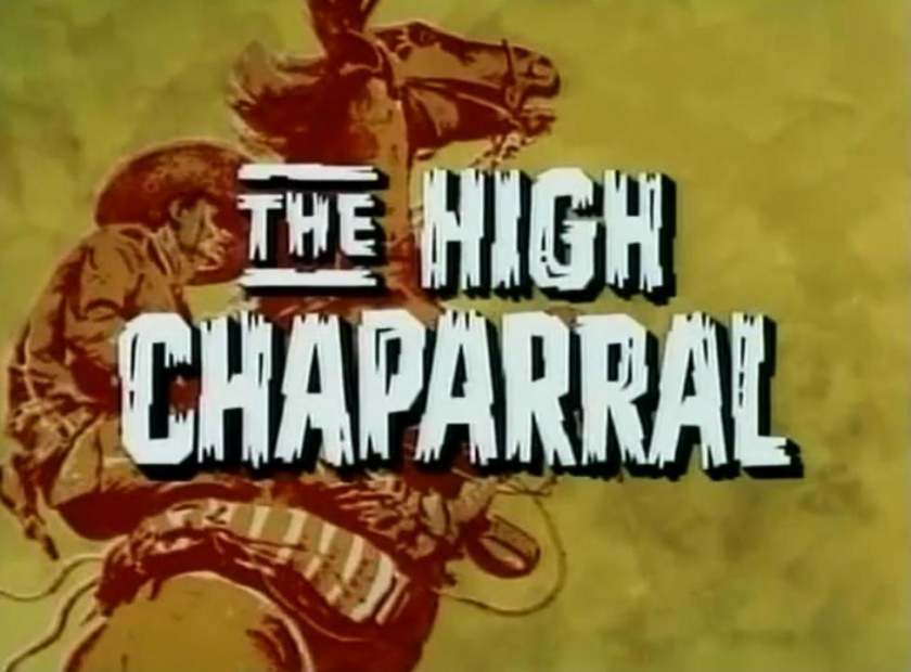 The High Chaparral Reunion Logo