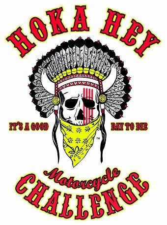 Hoka Hey Motorcycle Challenge Logo