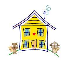 HomeFur-ever Animal Rescue Logo
