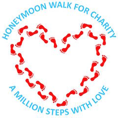 Honeymoon Walk For Charity Logo