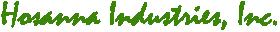 Hosanna Industries, Inc. Logo