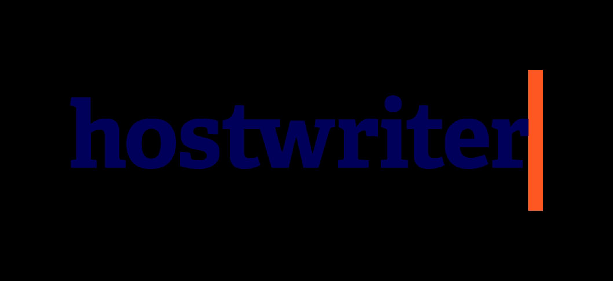 Hostwriter Logo