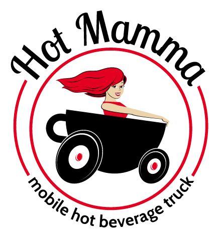 Hot Mamma, LLC. Logo