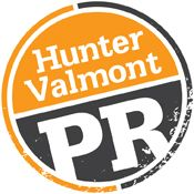 Hunter Valmont Public Relations Logo