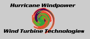 Hurricane Wind Power Logo