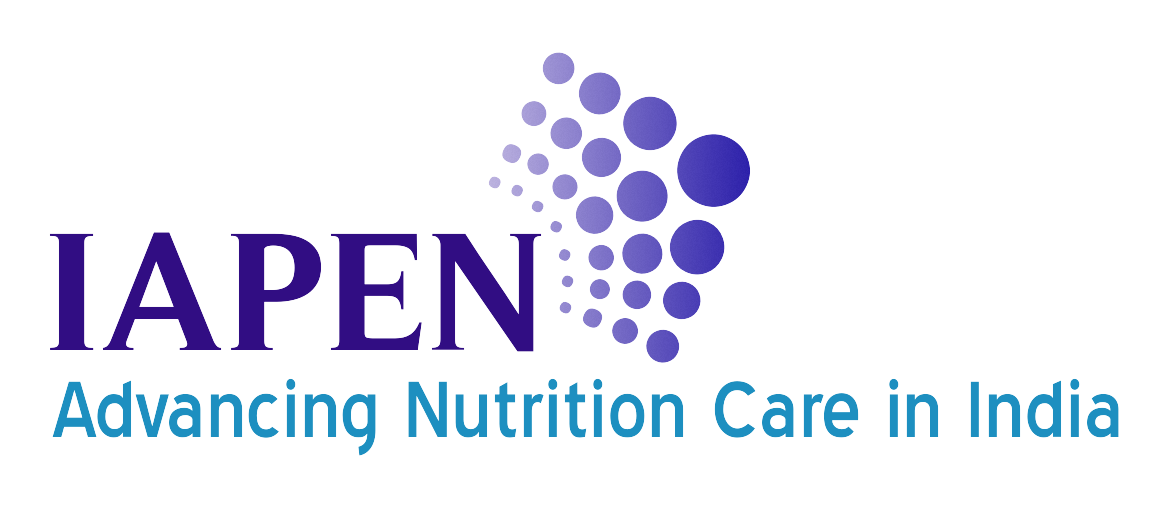 The Indian Association for Parenteral and Enteral Nutrition Logo