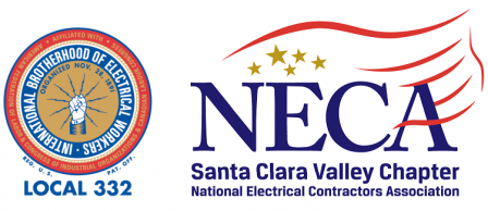 IBEW Local 332 and Santa Clara Valley NECA Logo