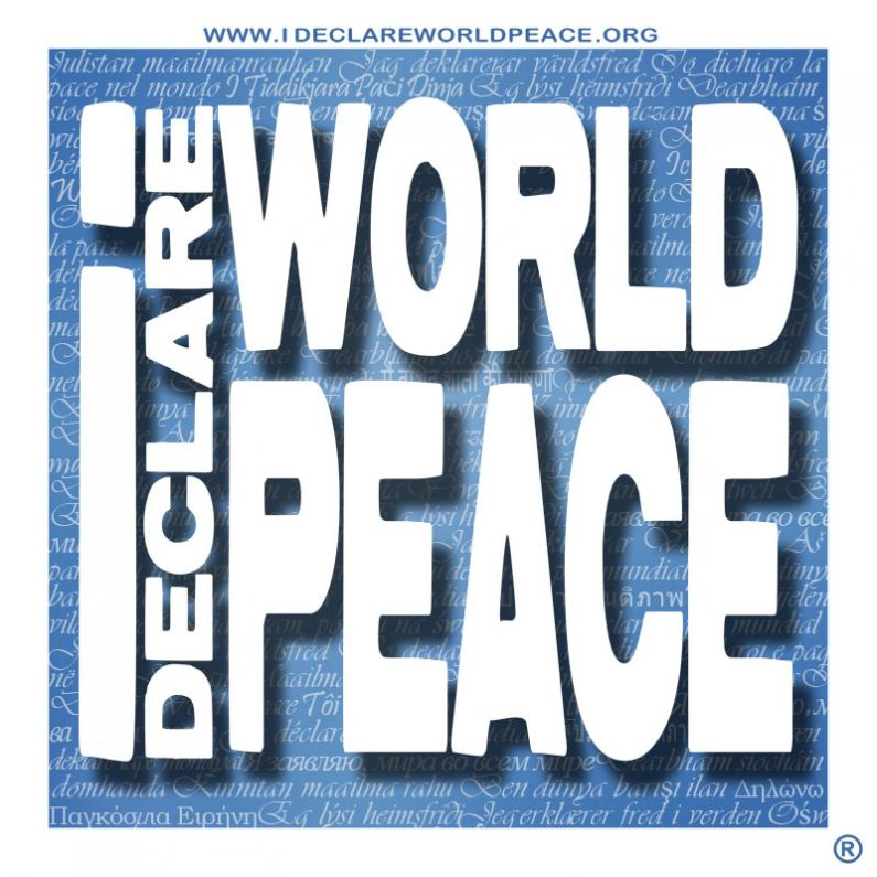 I Declare World Peace, Inc. Logo