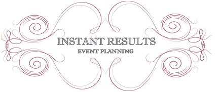 Instant Results Event Planning Logo
