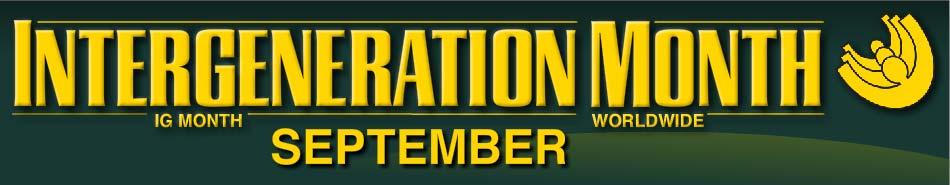 Intergeneration Month Logo