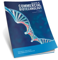 Journal of Commercial Biotechnology Logo