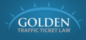 Golden Traffic Ticket Law Logo