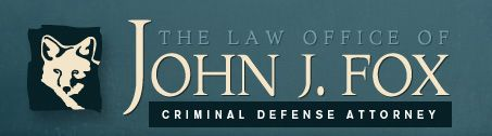 The Law Firm of John J. Fox Logo