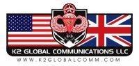 K2GLOBALCOMM Logo