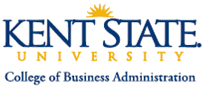 Kent State University - College of Business Logo
