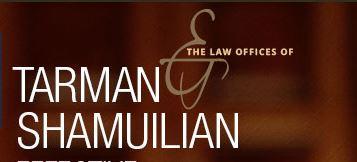The Law Offices of Tarman & Shamuilian Logo