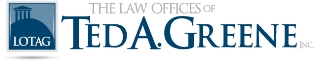 Law Offices of Ted A. Greene Inc Logo