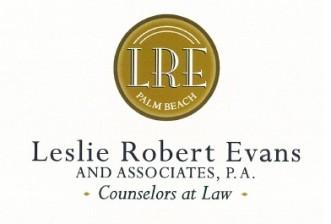 Leslie Robert Evans & Associates, P.A. Logo