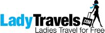 LadyTravels.com Logo