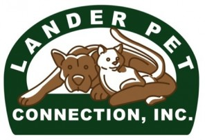 The Lander Pet Connection Logo