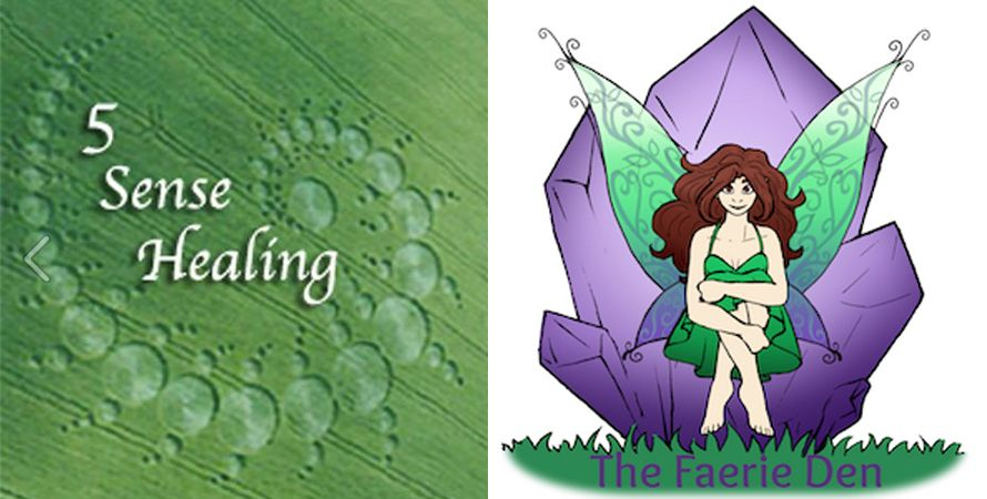5 Sense Healing & The Faerie Den Logo