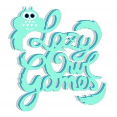 Lazy Owl Games Logo