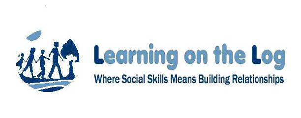 Learning on the Log Logo