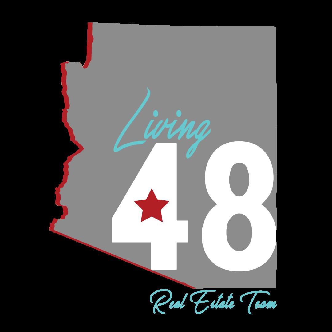 Living 48 Real Estate Logo