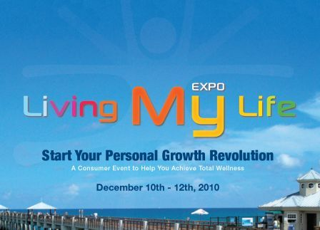 LivingMyLifeExpo Logo