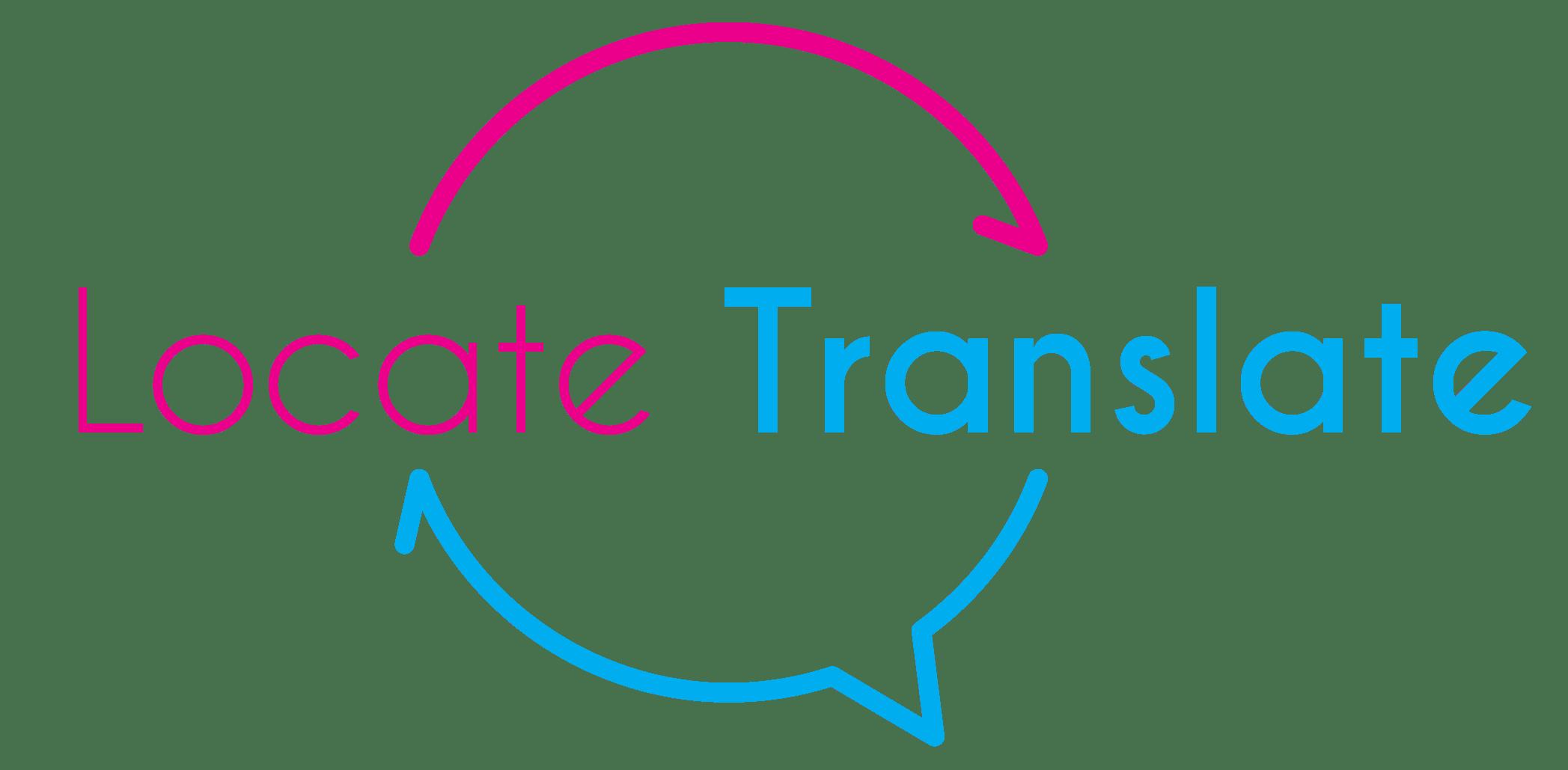 Locate Translate Logo