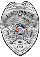 Lou's Police Distributors Guns Tactical Supply Logo