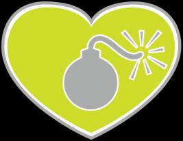 LoveBomb Go-go Logo