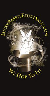 Lucky Rabbit Estate Sales Logo