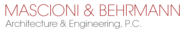 Mascioni & Behrmann, Architecture & Engineering Logo