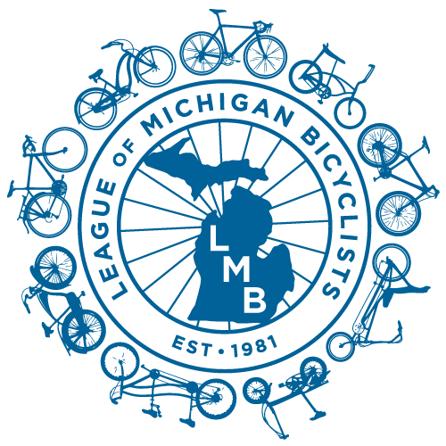 Leauge of Michigan Bicyclists Logo