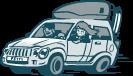 Mountain Rideshare Logo
