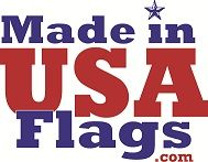 Made in USA Flags Logo