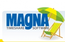 Magna Computer Timeshare Software Logo