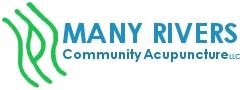Many Rivers Community Acupuncture, LLC Logo