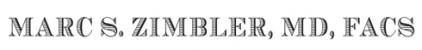 Marc S. Zimbler, MD Logo