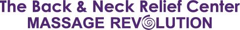 Massage Revolution's  Back and Neck Relief Center Logo