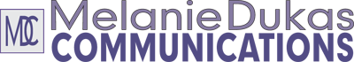 Melanie Dukas Communications Logo