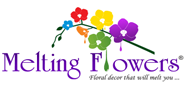 Melting Flowers Logo