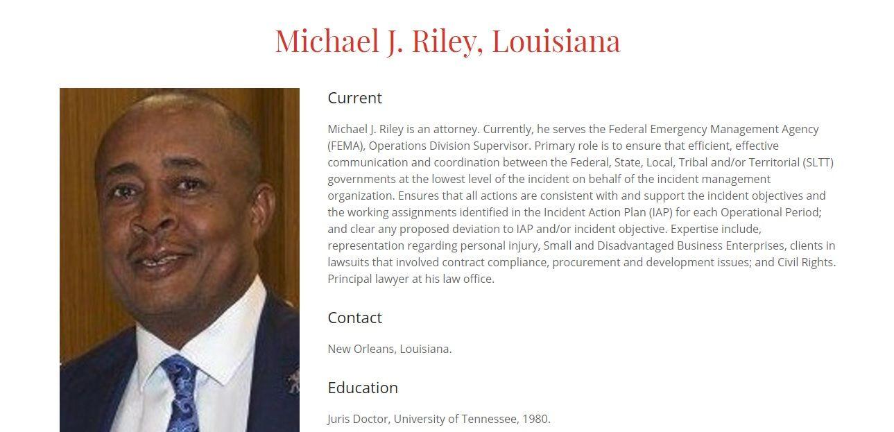 Attorney Michael Jerome Riley, Sr. Logo
