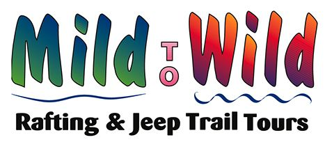 Mild to Wild Rafting and Jeep Trail Tours Logo